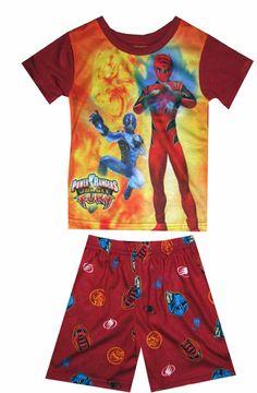 Power Rangers Jungle Fury pajamas