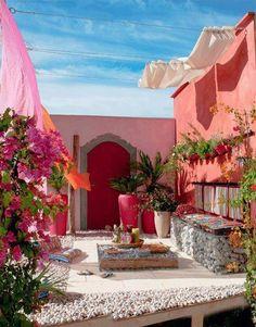 Colorful Backyard
