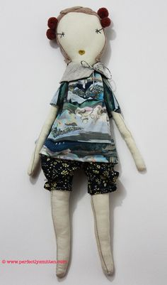 - Description - More Info. - The Brand - A rag doll from Jess Brown makes a truly unique friend for your little girl. Each doll is handmade from cotton muslin or linen and filled with sustainable corn                                                                                                                                                     More