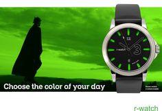 r-watch.ch Swiss brand for urban watch! Smart Watch, Urban, Watches, Day, Clocks, Wristwatches, Smartwatch