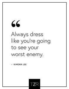 We love this fashion quote by Kimora Lee