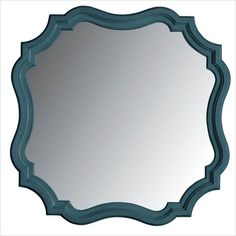 Lowest price online on all Stanley Furniture Coastal Living Retreat Piecrust Mirror in English Blue - 411-53-30