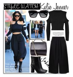"""""""Style Watch:Kylie Jenner"""" by nfabjoy ❤ liked on Polyvore featuring Baldwin, WearAll, BIG PARK, Tory Burch, Yves Saint Laurent, Givenchy, KylieJenner and CelebrityStyle"""