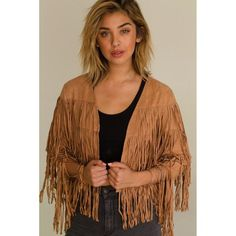 WILD WEST JACKET  ||  This piece is a Poly blend Open jacket with fringe detailing Hand wash cold, lay flat to dry Model is wearing a size Small Made In: India Shipped From: United S https://www.mymallmetro.com/products/wild-west-jacket?utm_campaign=crowdfire&utm_content=crowdfire&utm_medium=social&utm_source=pinterest