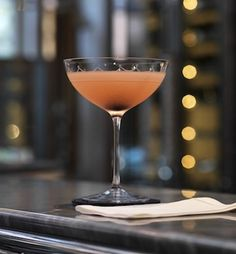 Mirabella Fizz Cocktail, as served in the Connaught Hotel, London