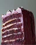 Salted-Caramel Six-Layer Chocolate Cake - Martha Stewart Recipes