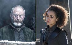 Liam Cunningham, Lyanna Mormont, David Benioff, Nathalie Emmanuel, Kit Harrington, Valar Dohaeris, The North Remembers, Matthew Perry, Cersei Lannister