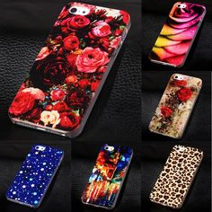 2017 New Phone Cover for Apple iPhone5 5s Luxury Painted Case For iphone 5 5s Hard Cell Phone Case for iPhone 5s 5g