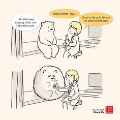 2017 – Panda and Polar Bear Funny Animal Memes, Cat Memes, Funny Animals, Cute Animals, Funny Memes, Panda Love, Cute Panda, Polaroid, Doodle Books