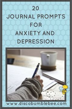 These 20 journal prompts for anxiety and depression are a helpful addition to the bullet journal or regular journal. Writing is good therapy!