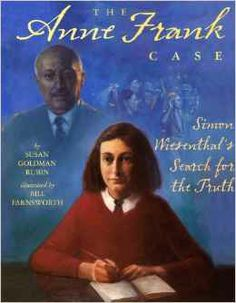 """In 1958, Holocaust deniers disrupted a theater performance of The Diary of Anne Frank. In response, the well-known Nazi hunter Simon Wiesenthal vowed to prove Anne's story true by finding the Gestapo officer who'd arrested her and her family. Much detective work led to the 1963 discovery of the man in question. This """"hook"""" is the framing story for a picture-book biography chronicling Wiesenthal's experiences during World War II and illustrating the development of his unusual career. Simon Wiesenthal, Pioneer Life, National Geographic Kids, Fiction And Nonfiction, Anne Frank, Kids Writing, Book Themes"""