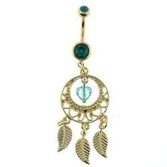 This page features some very pretty belly button rings in the shape of dream catchers. Any one of these would make a great gift for any occasion....
