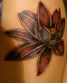 I love the blank border on that lotus flower by Juca Teapot Tattoo, I Tattoo, Tattoo Quotes, Girly Things, Girly Stuff, Lotus Flower, Flower Tattoos, Tattoos For Women, Tatting