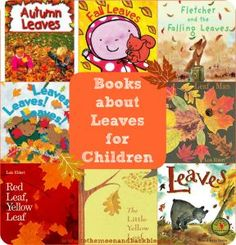 Eight Children's Books About Leaves - To the Moon and Back