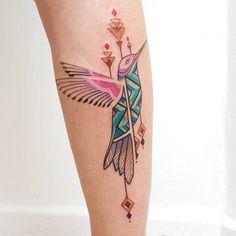 colibri tatuajes inspirados en chamanes
