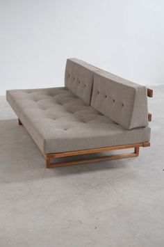 Børge Mogensen; White Oak Daybed for Fredericia A/S, 1958.