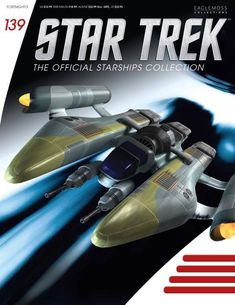 Star Trek Official Starships Collection #139 Eaglemoss Collections, Nuclear Winter, Dragon's Teeth, Suspended Animation, Star Trek Collectibles, Star Trek Ships, Survival, Stars, Tatoo