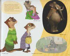 비안 트 알트에 ZootopiaFanART으로 개념 미술 책 음부 2 (더 많은 페이지)