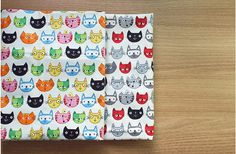 * Lovely Cats Oxford Cotton Fabric * 100% Cotton * Fabric size: 1 Yard = 110 cm wide x 90 cm long (44 x 35.4) * Multiple yards will be cut in one continuous piece. * Great for bedding, wall fabric, curtain, roman shade, cushion, table runner, apron, table cloth, bags, kitchen mitten, valance, bath mat and more  * This listing is for 1 yard of one color. Please make your selection during checkout (Red Black or Multi Colors).  ----------------------------------------------- Please check o...