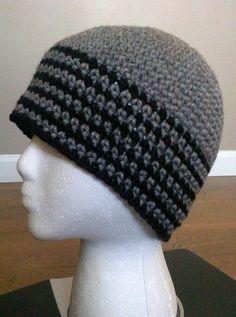 Gorros tejidos a crochet para hombre , Imagui