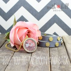 South Hill Designs Love You Locket & Signature Wraps