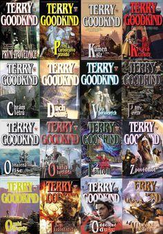 GOODKIND Terry - Meč Pravdy - komplet 16 vázaných knih