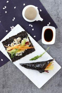 Temaki  : rouleaux de sushi veggie