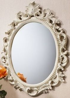 Gallery Direct Napoli Mirror - Cream 4pk