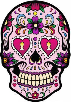 Calavera - Tete De Mort Mexicaine 2 - ref.d7440 | MPA Déco