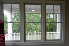 Side by Side double hung with divided lights Sunroom Windows, Cottage Windows, Farmhouse Windows, Modern Farmhouse Exterior, Living Room Windows, Casement Windows, Windows And Doors, Black Windows, Front Doors