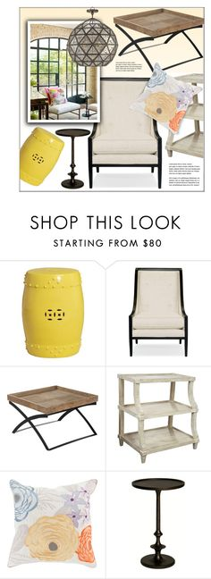 """""""Sunroom"""" by kathykuohome ❤ liked on Polyvore featuring interior, interiors, interior design, home, home decor, interior decorating, malo, Cosimia, Home and sunroom"""