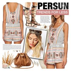 """""""PERSUN - Trends for less!"""" by anita-n ❤ liked on Polyvore featuring moda, Anja, Forever 21 y modern"""