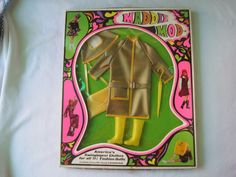 Vintage Maddie Mod Barbie Clone Outfit 1755 Shower Power Princess Grace | eBay
