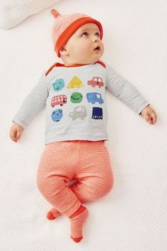 Buy Blue/Orange Transport Four Piece Set (0mths-2yrs) online today at Next: United States of America