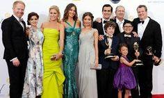 MODERN FAMILY. The best show on television!!