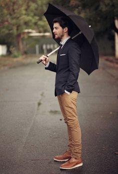 Street Style: Com estilo mesmo em dia de chuva