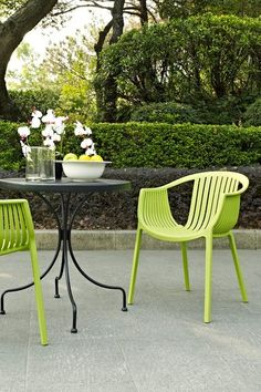 Hammock Plastic Stackable Outdoor Modern Dining Chair   Green By Modway On  @HauteLook