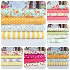 4 Fat Quarter Summer Chic Floral Bundles 100% Cotton Pinks, Blues & Yellows Sewing Online, Doll Making Tutorials, Shops, Buy Fabric Online, Polka Dot Fabric, Summer Chic, Doll Tutorial, Fat Quarters, Fabric Dolls