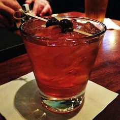 Ending the night with an old fashion at @annabelles_sf with @Ari Halbkram and @Adam Lerner | Flickr - Photo Sharing!