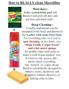 Sofa Cleaning - must try going over the couch with a scotch brite once or twice a week to get the dog hair up