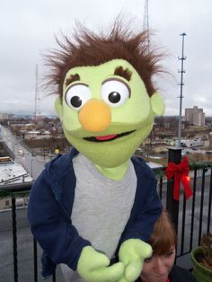 Nicky by PJs Puppets - Avenue Q   -- custom professional puppets