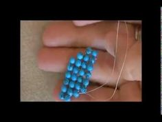 ▶ Diagonal Right Angle Weave  ~ Seed Bead Tutorials