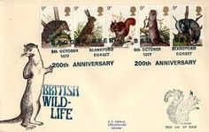 British Stamps - British Wildlife 200th Anniversary FDC