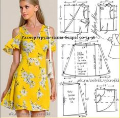 Enchanting Sewing Patterns Clone Your Clothes Ideas Diy Clothing, Sewing Clothes, Dress Sewing Patterns, Clothing Patterns, Fashion Sewing, Diy Fashion, Moda Fashion, Make Your Own Clothes, Couture Sewing