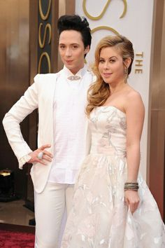2014 Oscars Johnny Weir in Le Vian and DeMarco jewels