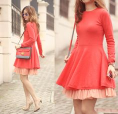 Get this look: http://lb.nu/look/7114796  More looks by Mayo Wo: http://lb.nu/mayowo  Items in this look:  Chic Wish Orange Dress With Tulle   #artistic #chic #romantic