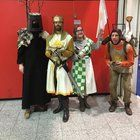 [Self] Me and some awesome people at London Comic con in May(Im the one saying Ni)