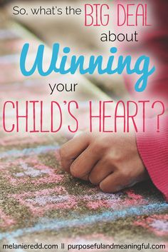 As parents, we want to win and keep our children's hearts for life. But, are we? Here is an honest article that takes a look at the danger of losing your child's heart and never regaining it again.