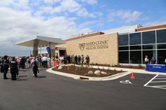 Grand Opening of Mayo Clinic Health System in Cannon Falls, MN.  July 25, 2014