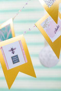 Etikettenprints für Dekorationen an Geburtstagen, Feiertagen und viel mehr - jetzt Etikettendrucker von Brother entdecken! Brother, Happy Birthday, Dyes, Technology, Dekoration, Holiday, Printing, Birthday, Happy Brithday